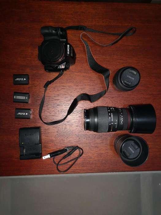 Camara Sony Alpha A37