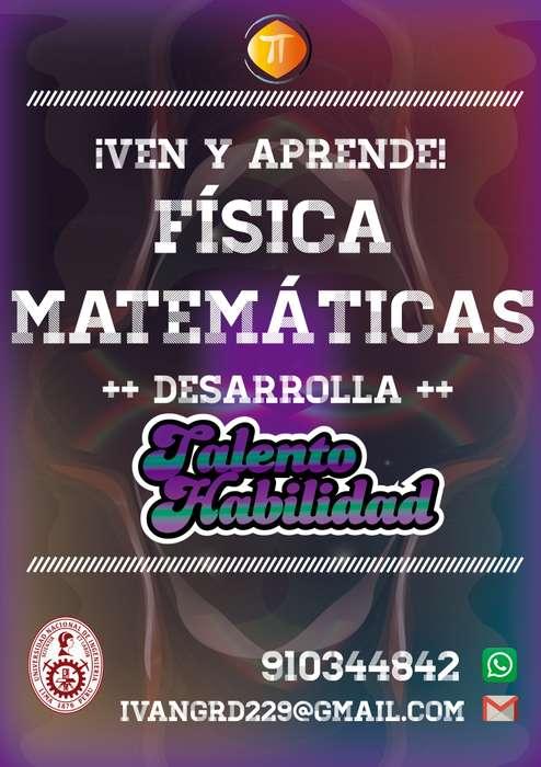 Clases Particulares de Matemáticas y Física UNI