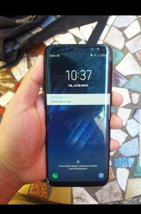 Vendo Samsung S8 Libre 4g,detalles