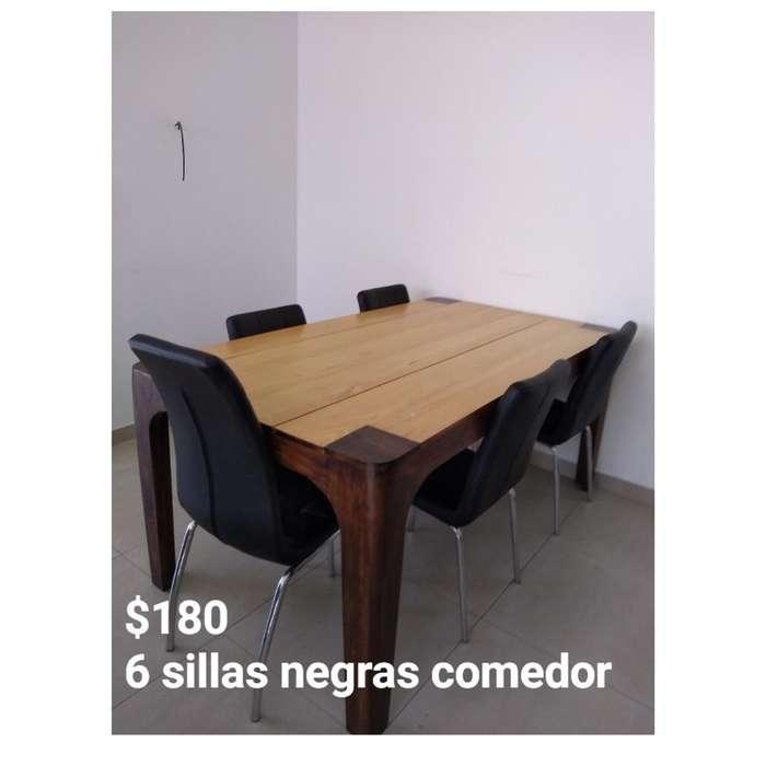 Venta de 6 sillas para comedor