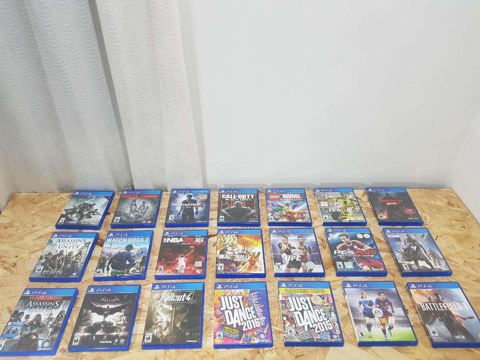 Liquidación Juegos Playstation 4 Ps4