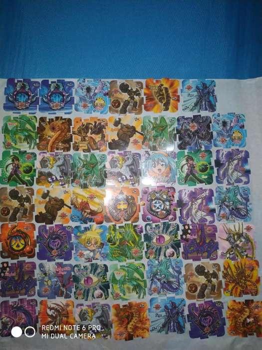 Coleccion Cubix Bakugan Nucita