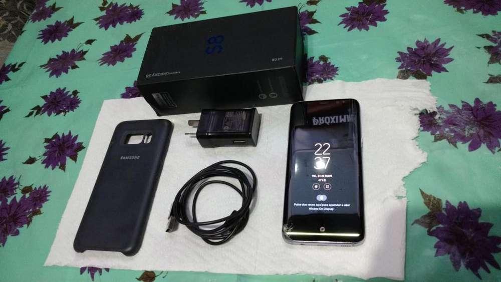 Celular Samsung S8 Para Claro Completo En Caja Liquidacion efectivo a 10000