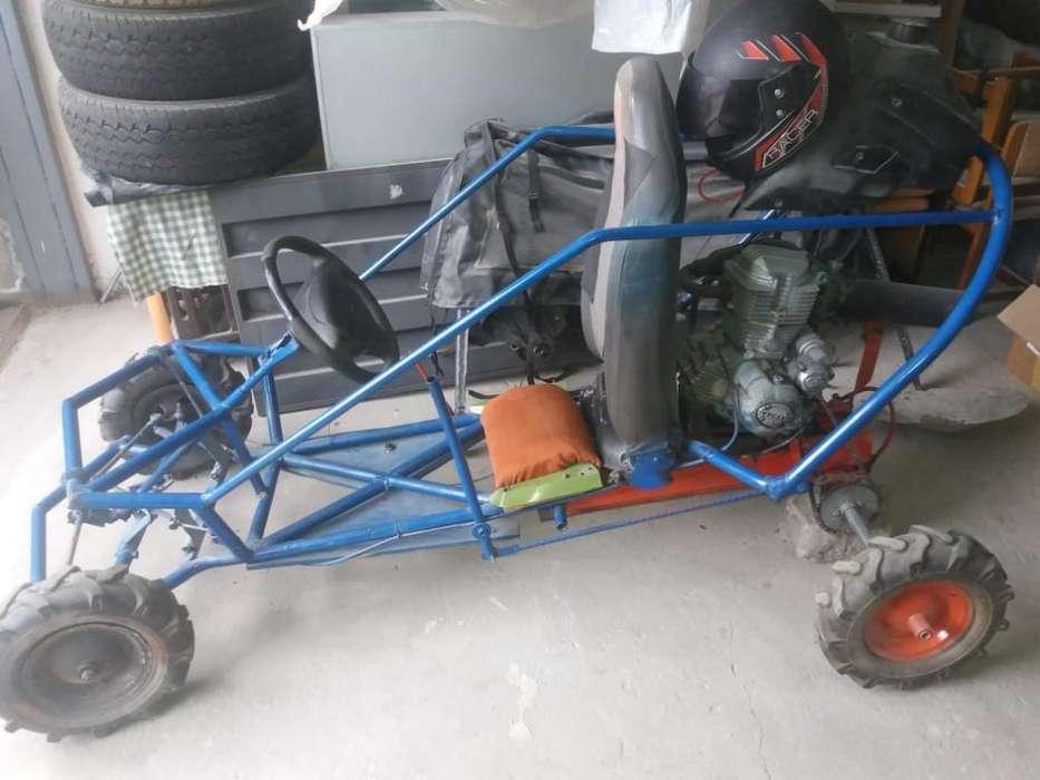 Gokart con Motor de Moto 200cc