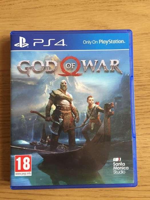 Juego Ps4 God Of War 4 Playstation 4