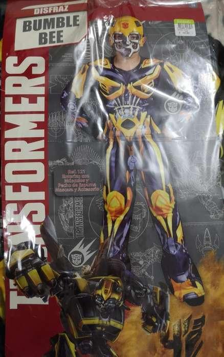 Disfraz de Transformer bumble Bee