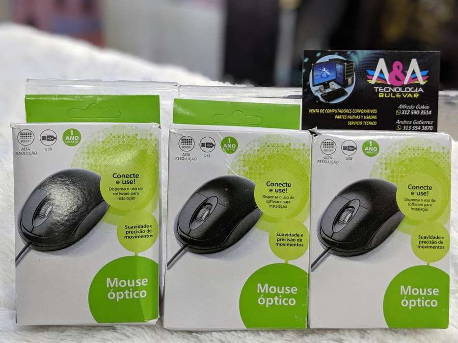 Mouse Opticos Usb Nuevos
