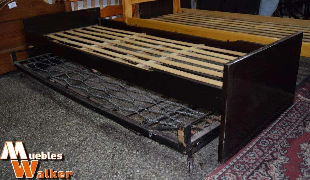 Cama marinera con carrito sistema elevable