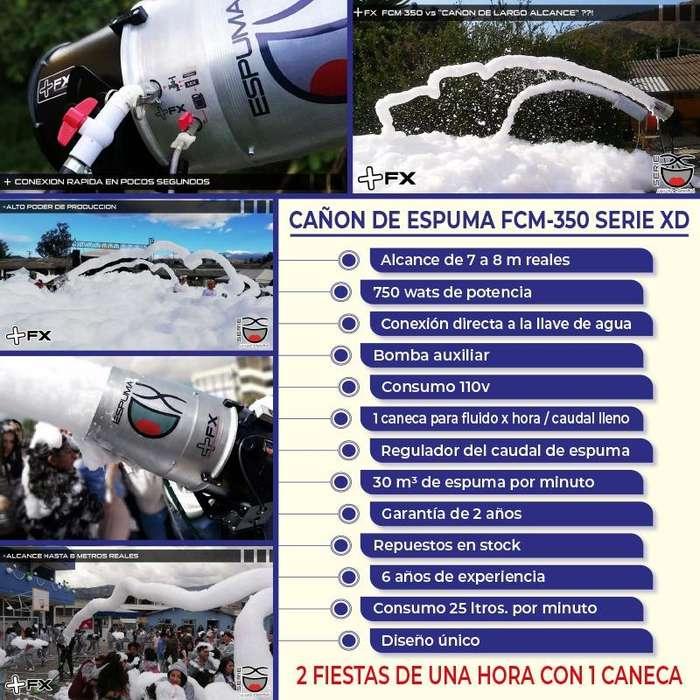 CAÑON DE ESPUMA /ESPUMA PARA FIESTAS /LANZADOR DE ESPUMA /