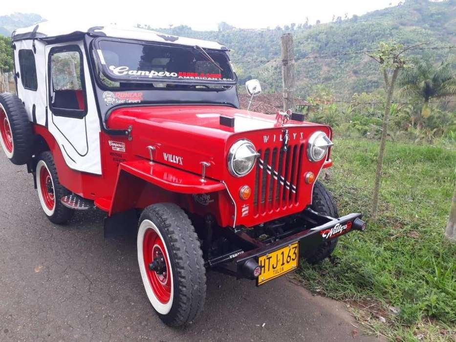 JEEP Willys 1954 - 1000 km