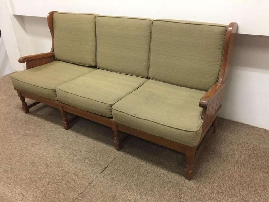 Sofa de Madera Roble