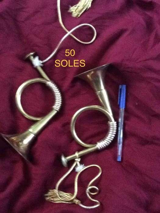 Trompetas de Bronce