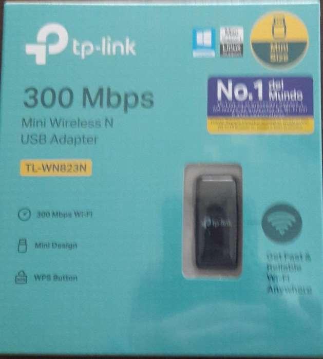Adaptador Inalámbrico Wireless TL WN823N