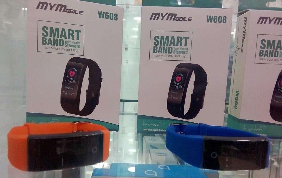 Smartwatch MYMobile - Reloj Inteligente, Smartband W608. Impermeable.