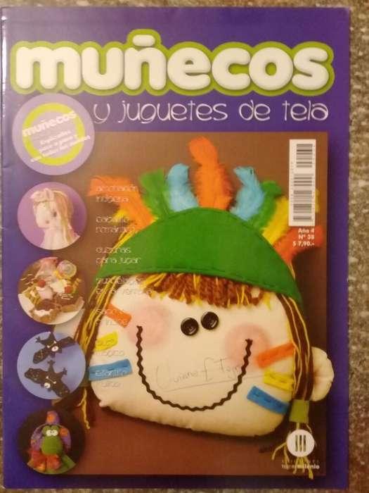 Muñecos Y Juguetes de Tela Año 3 N38