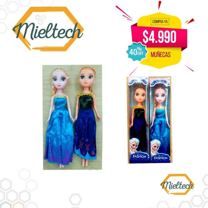 Anna o Elsa Frozen Muñecas Hermosas