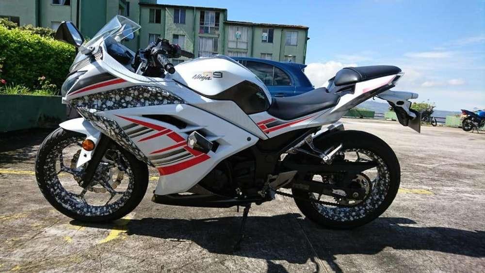 Ninja 300 2013 no R3 Cbr Duke