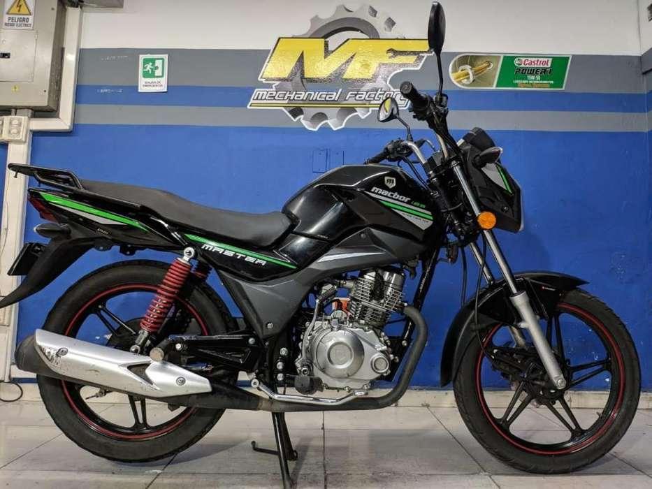 SYM MACBOR NS125 MODELO 2018 TRASPASO INCLUIDO