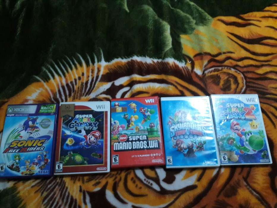 Se Venden Juegos Originales de Wii