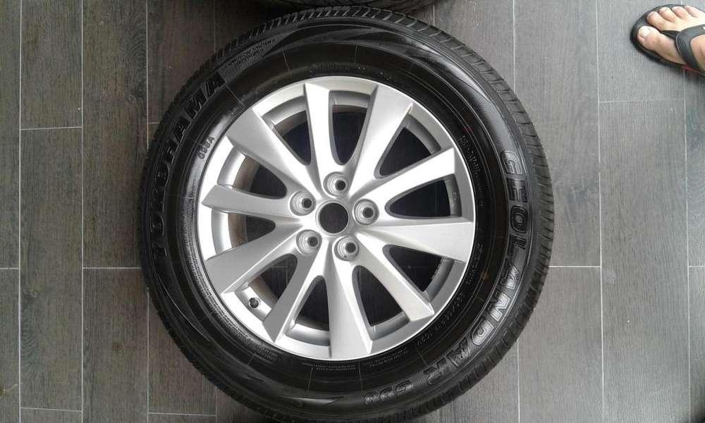 Juego de Aros 17 Y <strong>llanta</strong>s Mazda Cx5