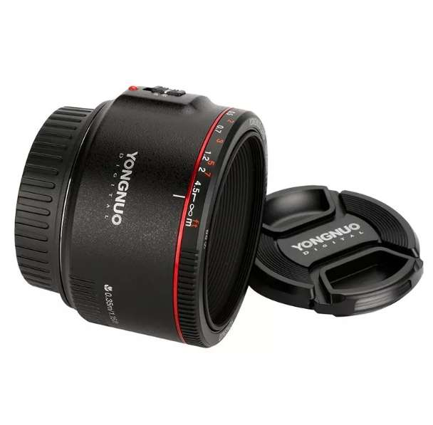 Lente 50mm f:1.8 versión II para cámaras Canon