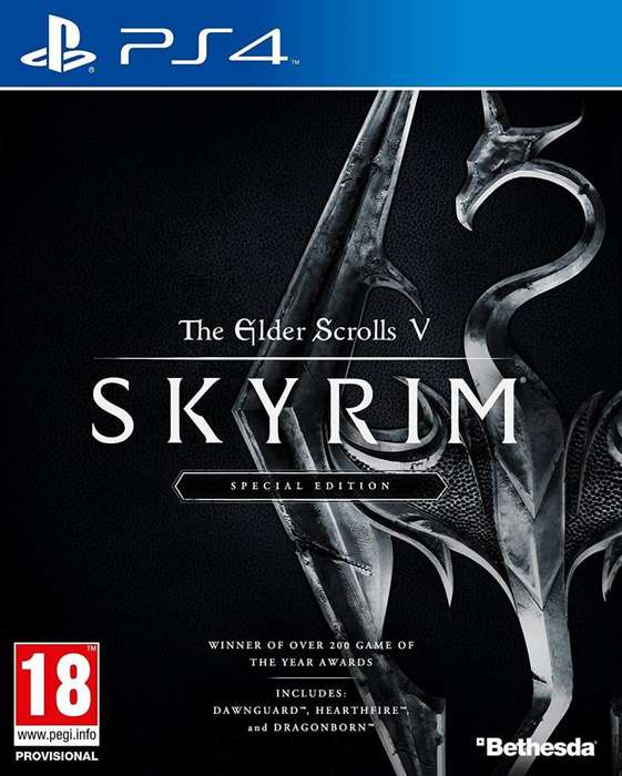 The Elder Scrolls V: Skyrim PS4 Fisico Usado