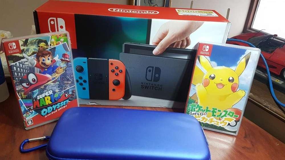Nintendo Switch Nuevo Y Extras Oportunid