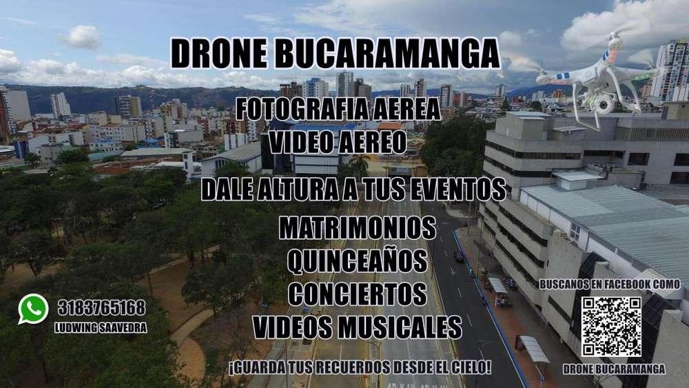 SERVICIO DE DRONE PROFESIONAL PARA FOTOGRAFIAS Y VIDEOS AEREOS!! DRONE BUCARMANGA SON TUS OJOS DESDE EL CIELO!!!