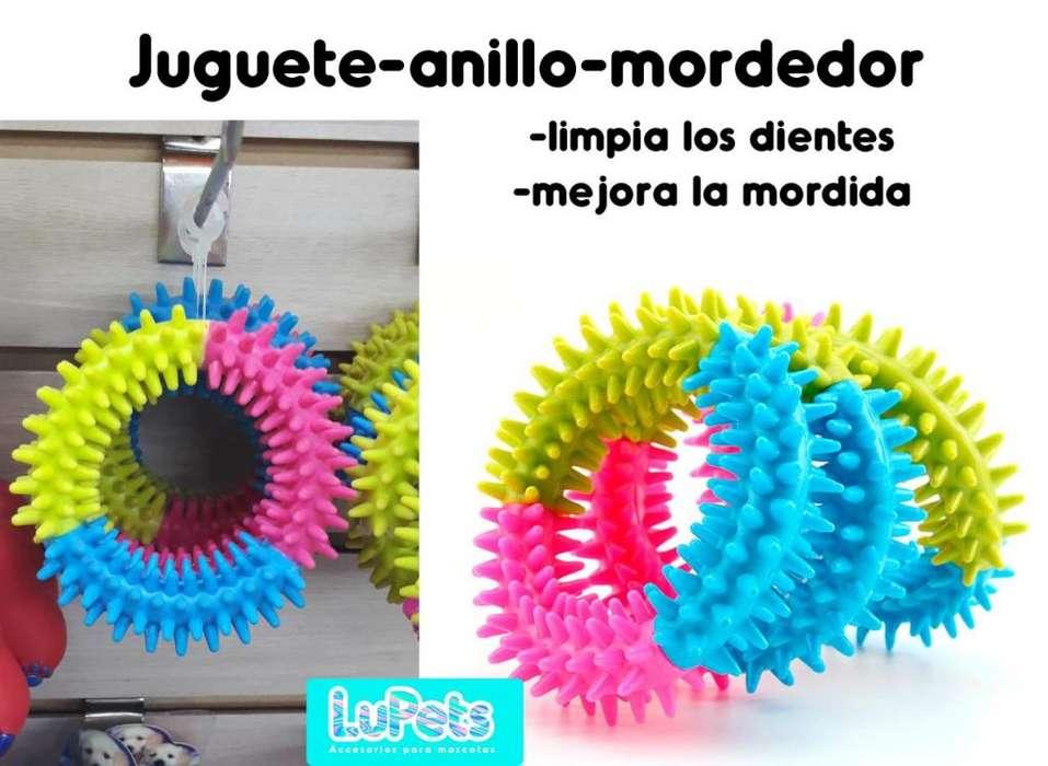 juguete mordedor <strong>perro</strong> mascota-limpiador encias dientes