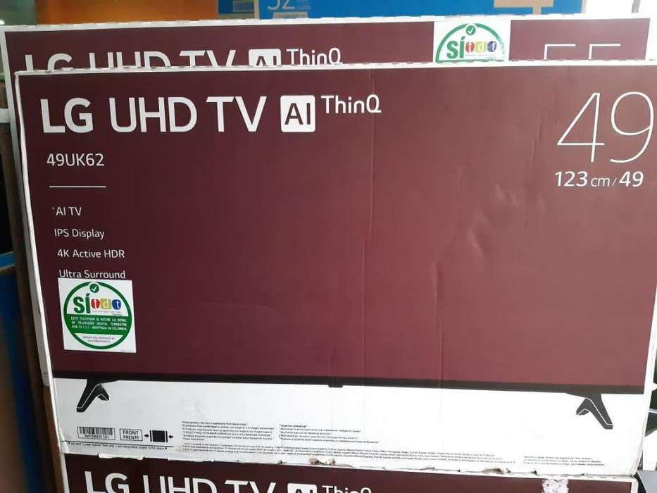 <strong>televisor</strong> LG 49 UHD 4K SMART TV
