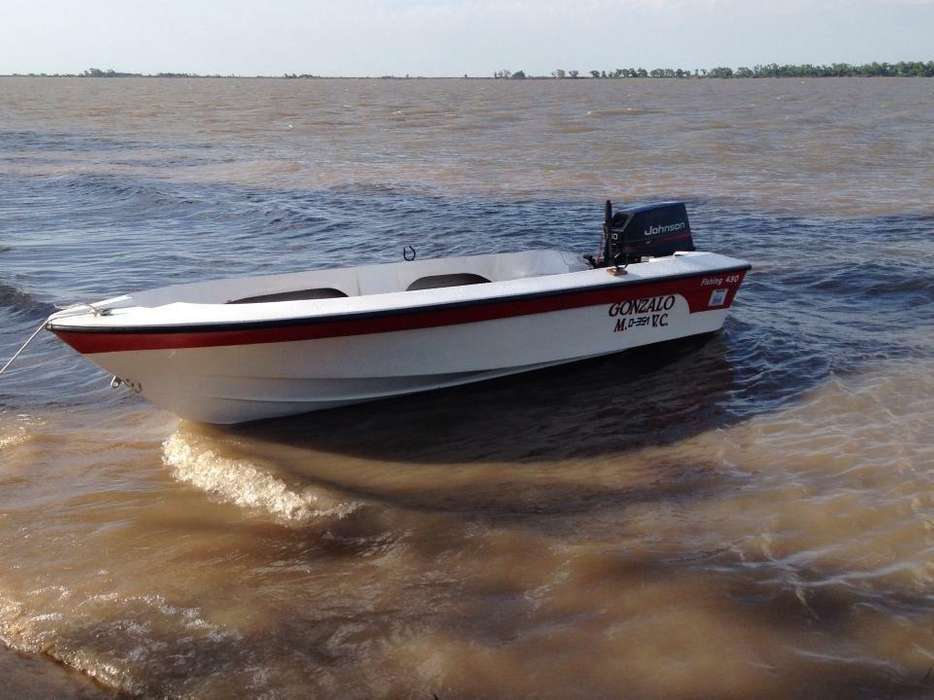 Lancha 450 Johnson 40 Mod95