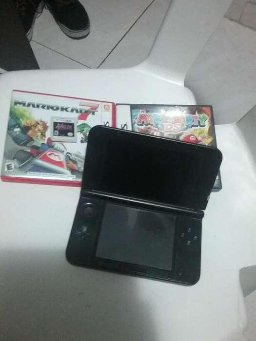 Nintendo 3ds Xl con Juegos Edicion Mario