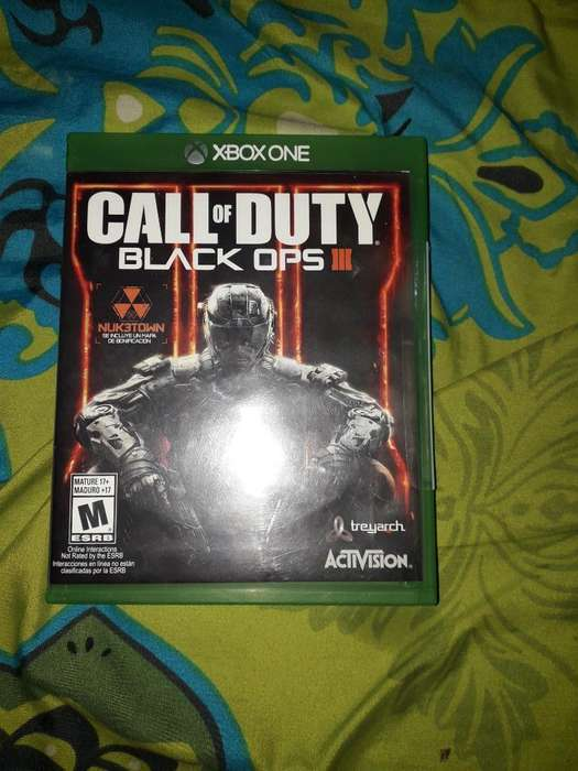 Se Vende Juego Call Of Duty Black Ops 3