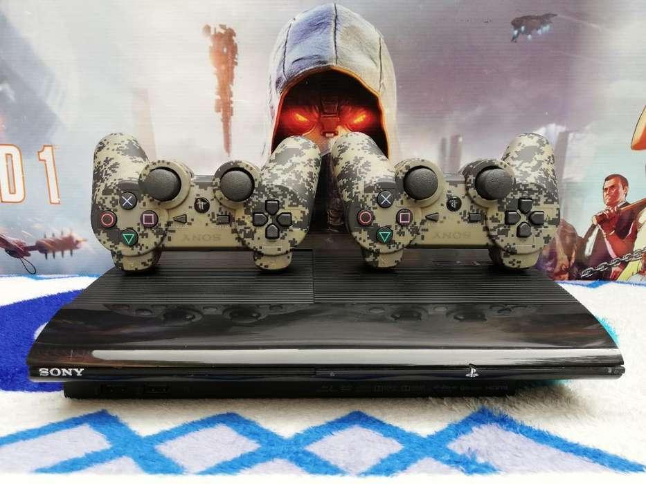 Playstation3 Super Slim Como Nuevo