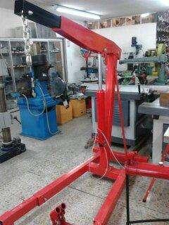 MINI GRUA <strong>hidraulica</strong>