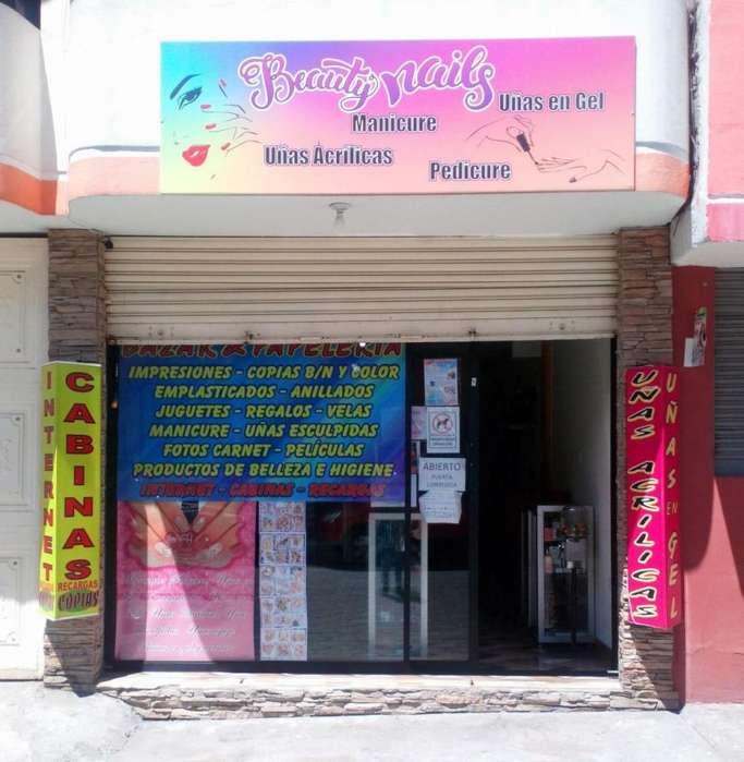 Se Vende <strong>bazar</strong>, Papelería e Internet por motivo de viaje