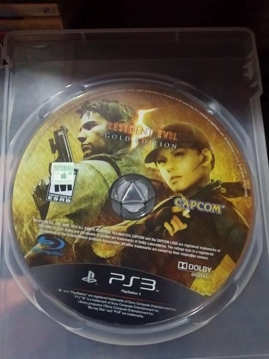 Resident Evil 5 Play 3 Ps3