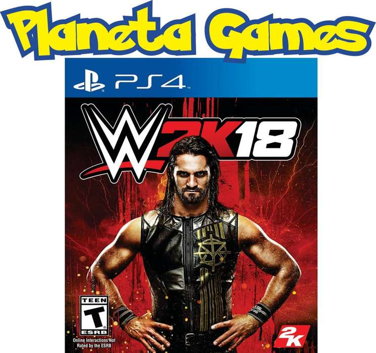 Wwe 2k18 PRODUCTO OULET Playstation Ps4 Fisicos Caja Cerrada