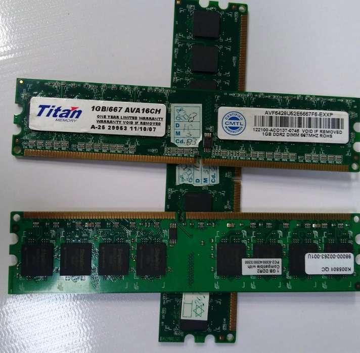 Memoria Ram 1GB Drr2