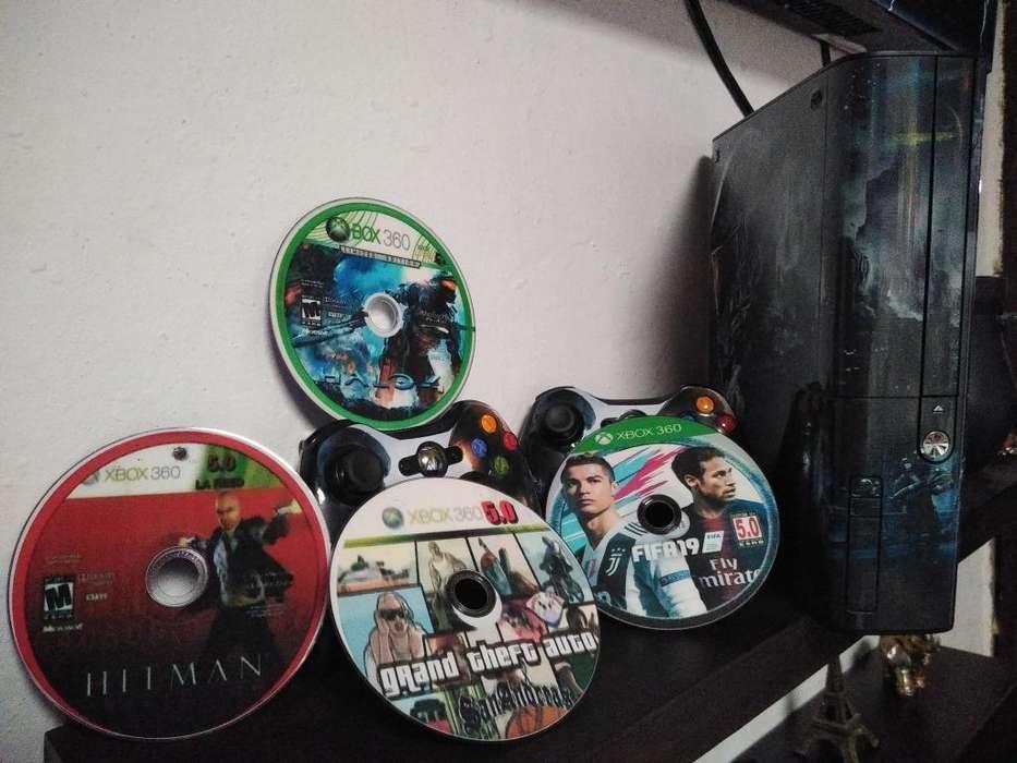 Xbox 360 5.0 en Perfecto Estado
