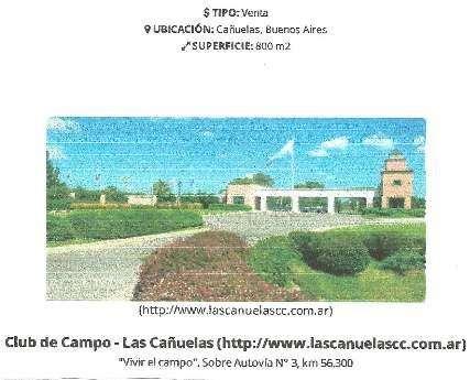 Casa en venta en Las Cañuelas