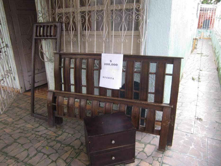 cama de buena madera