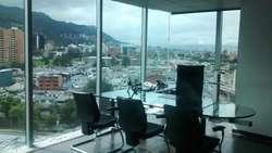 AMOBLADA  sala juntas, 6 oficinas privadas, 2 baños privados, 16 puestos trabajo 50133
