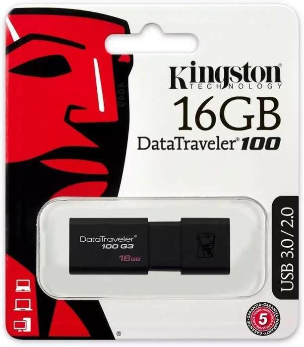 Pendrive Kingston 16 GB 3.0 DT100 G3