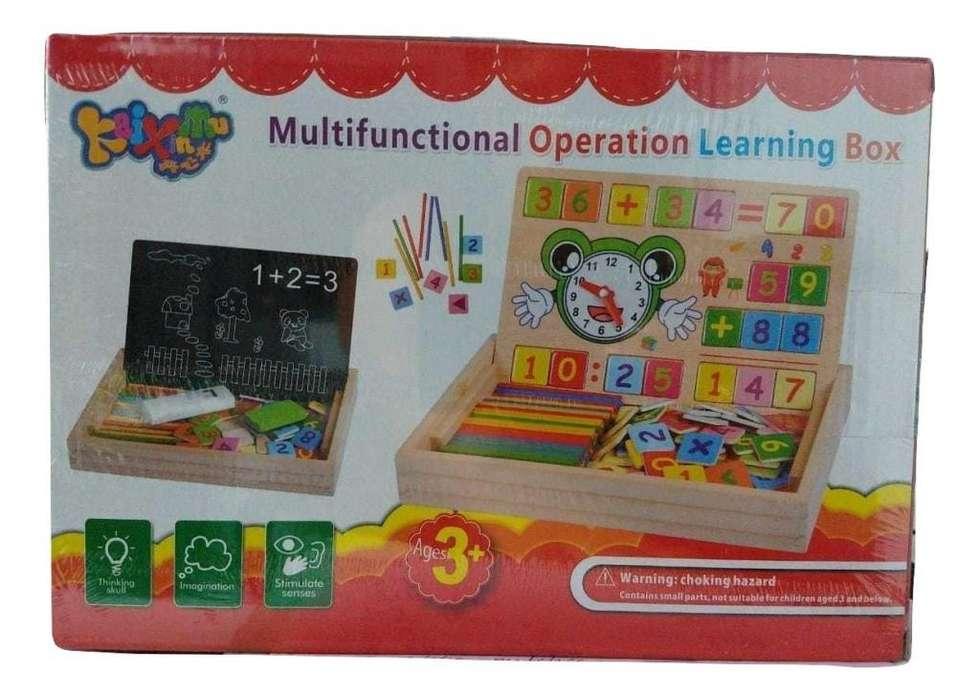 Cajita Multifuncional Operaciones Niños Lince (2826)