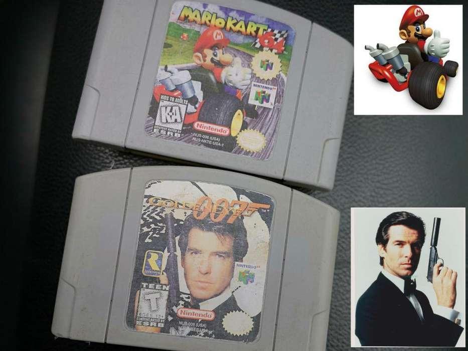 Nintendo 64 Como Nuevo 02 Juegos