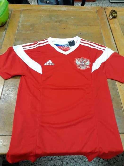 Camiseta de Rusia Talle L