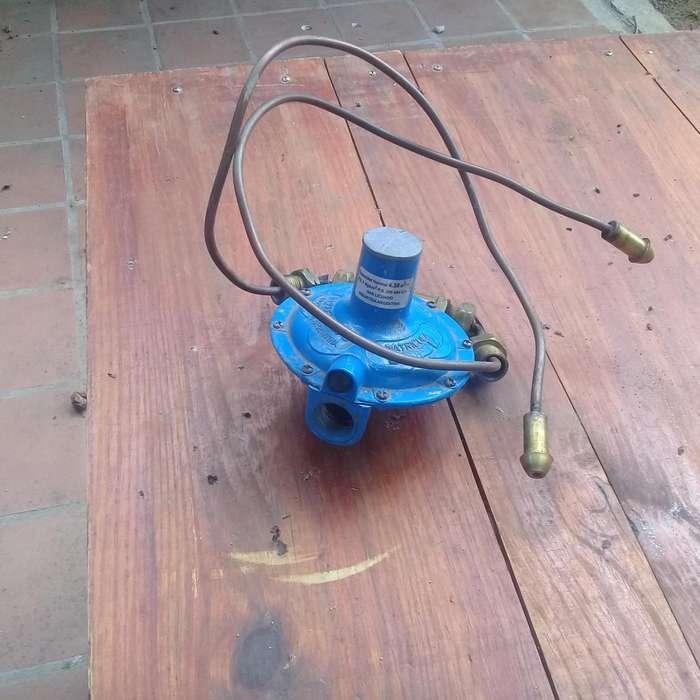 REGULADOR DE GAS DE TUBO DE 45 KG LISTO PARA CONECTAR En Villa Larca Prov de San Luis