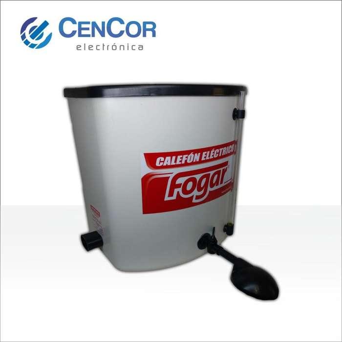 Calefon Electrico Pvc 20 Litros Fogar! CenCor Electrónica