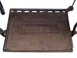 Máquina De Coser Singer Pata De Araña Antiguedad
